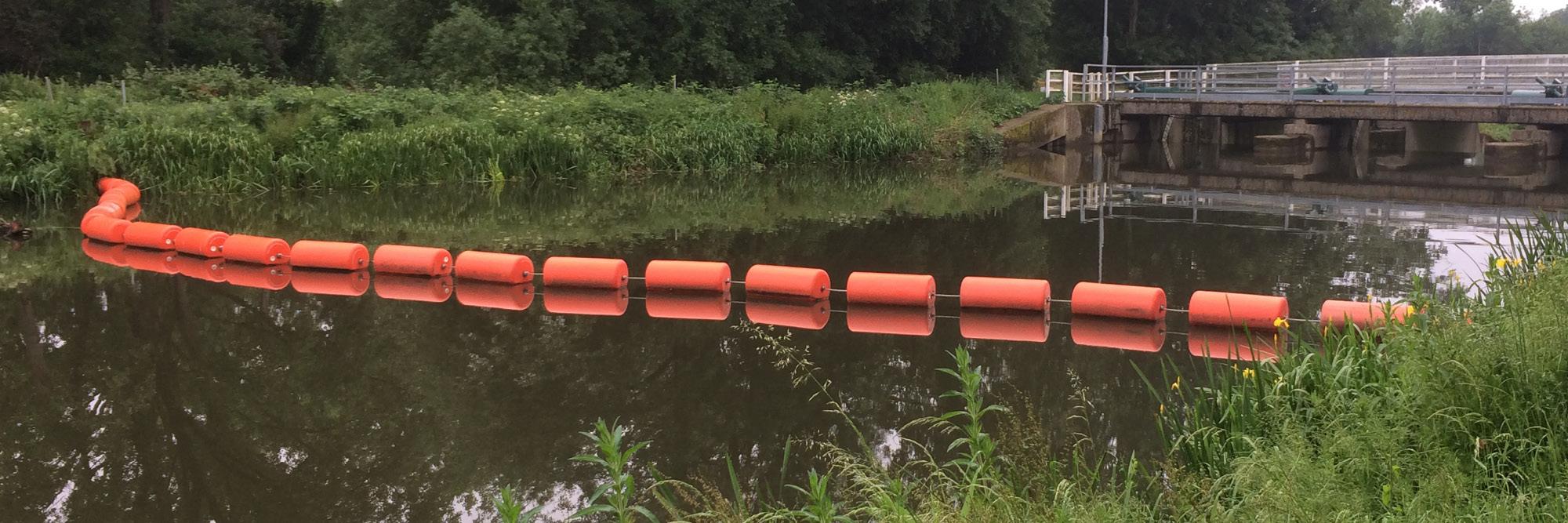 Bolina Canoe Booms