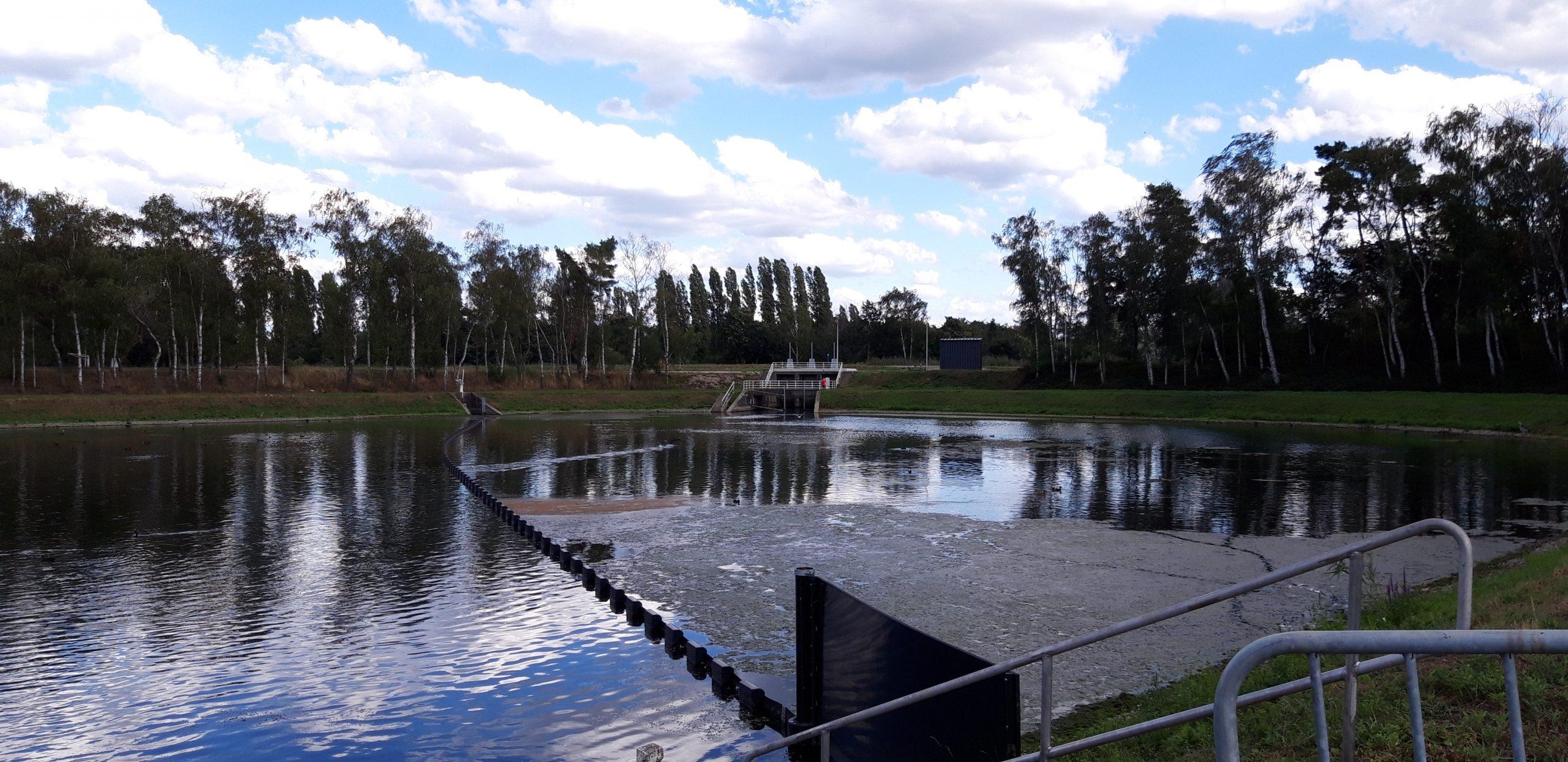 Bolina drijfvuilbarrière tegen waterpest bij Water-Link