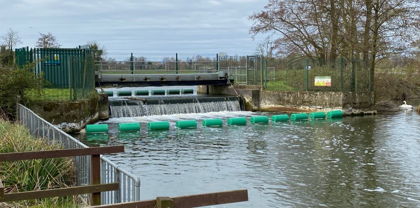 The Environment Agency appoints Bolina to install floating booms at Wainford Sluice